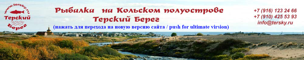 Белое море рыбалка